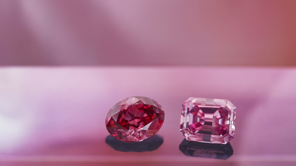 How to be sure to choose a pink diamond?