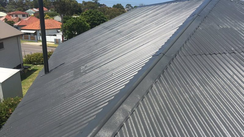 Roof restoration of a Private Home - Therapy for Roofing